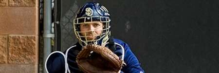 Padres Catchers Mask