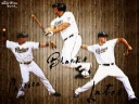 Mat Latos, Kyle Blanks, Everth Cabrera