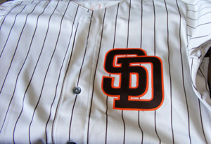 Late 1980s Padres jersey