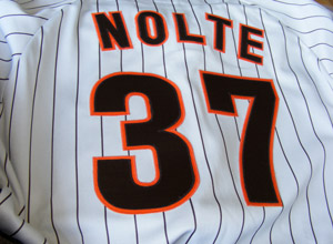 Late 1980s Eric Nolte jersey