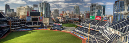 Petco Park, photo by surfneng.