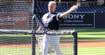 Bud Black Batting Practice Social Media